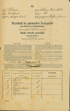 Popis prebivalstva 31. 12. 1869<br />Ljubljana<br />Svetega Petra predmestje 24<br />Population census 31 December 1869