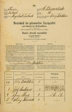 Popis prebivalstva 31. 12. 1869<br />Ljubljana<br />Svetega Petra predmestje 26<br />Population census 31 December 1869