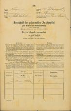 Popis prebivalstva 31. 12. 1869<br />Ljubljana<br />Svetega Petra predmestje 27<br />Population census 31 December 1869