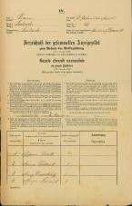 Popis prebivalstva 31. 12. 1869<br />Ljubljana<br />Svetega Petra predmestje 31<br />Population census 31 December 1869