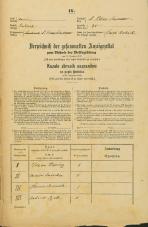 Popis prebivalstva 31. 12. 1869<br />Ljubljana<br />Svetega Petra predmestje 35<br />Population census 31 December 1869