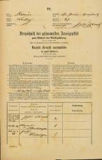 Popis prebivalstva 31. 12. 1869<br />Ljubljana<br />Svetega Petra predmestje 37<br />Population census 31 December 1869