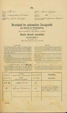Popis prebivalstva 31. 12. 1869<br />Ljubljana<br />Svetega Petra predmestje 40<br />Population census 31 December 1869