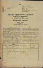 Popis prebivalstva 31. 12. 1869<br />Ljubljana<br />Svetega Petra predmestje 101<br />Population census 31 December 1869