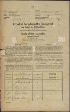 Popis prebivalstva 31. 12. 1869<br />Ljubljana<br />Svetega Petra predmestje 103<br />Population census 31 December 1869