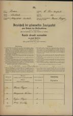 Popis prebivalstva 31. 12. 1869<br />Ljubljana<br />Svetega Petra predmestje 107<br />Population census 31 December 1869