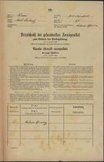 Popis prebivalstva 31. 12. 1869<br />Ljubljana<br />Svetega Petra predmestje 61<br />Population census 31 December 1869