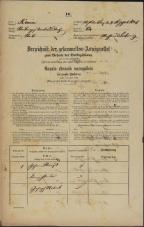 Popis prebivalstva 31. 12. 1869<br />Ljubljana<br />Svetega Petra predmestje 64<br />Population census 31 December 1869