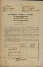 Popis prebivalstva 31. 12. 1869<br />Ljubljana<br />Svetega Petra predmestje 66<br />Population census 31 December 1869