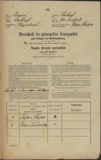Popis prebivalstva 31. 12. 1869<br />Ljubljana<br />Svetega Petra predmestje 74<br />Population census 31 December 1869