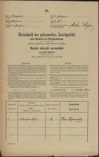 Popis prebivalstva 31. 12. 1869<br />Ljubljana<br />Svetega Petra predmestje 76<br />Population census 31 December 1869