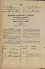 Popis prebivalstva 31. 12. 1869<br />Ljubljana<br />Svetega Petra predmestje 77<br />Population census 31 December 1869