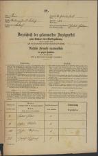 Popis prebivalstva 31. 12. 1869<br />Ljubljana<br />Svetega Petra predmestje 83<br />Population census 31 December 1869
