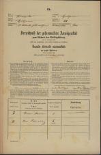 Popis prebivalstva 31. 12. 1869<br />Ljubljana<br />Svetega Petra predmestje 88<br />Population census 31 December 1869