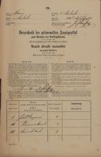 Popis prebivalstva 31. 12. 1869<br />Ljubljana<br />Svetega Petra predmestje 120<br />Population census 31 December 1869