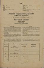 Popis prebivalstva 31. 12. 1869<br />Ljubljana<br />Svetega Petra predmestje 122<br />Population census 31 December 1869