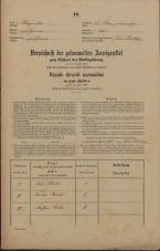 Popis prebivalstva 31. 12. 1869<br />Ljubljana<br />Svetega Petra predmestje 125<br />Population census 31 December 1869