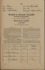 Popis prebivalstva 31. 12. 1869<br />Ljubljana<br />Svetega Petra predmestje 126<br />Population census 31 December 1869
