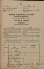 Popis prebivalstva 31. 12. 1869<br />Ljubljana<br />Svetega Petra predmestje 127<br />Population census 31 December 1869