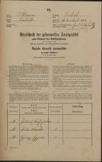 Popis prebivalstva 31. 12. 1869<br />Ljubljana<br />Svetega Petra predmestje 153<br />Population census 31 December 1869