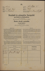 Popis prebivalstva 31. 12. 1869<br />Ljubljana<br />Svetega Petra predmestje 157<br />Population census 31 December 1869