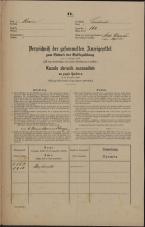 Popis prebivalstva 31. 12. 1869<br />Ljubljana<br />Svetega Petra predmestje 160<br />Population census 31 December 1869