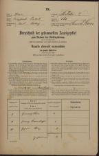 Popis prebivalstva 31. 12. 1869<br />Ljubljana<br />Svetega Petra predmestje 161<br />Population census 31 December 1869