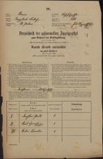 Popis prebivalstva 31. 12. 1869<br />Ljubljana<br />Svetega Petra predmestje 166<br />Population census 31 December 1869