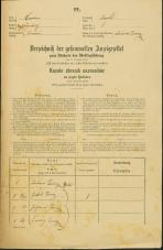 Popis prebivalstva 31. 12. 1869<br />Ljubljana<br />Trnovsko predmestje 1<br />Population census 31 December 1869