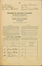 Popis prebivalstva 31. 12. 1869<br />Ljubljana<br />Trnovsko predmestje 13<br />Population census 31 December 1869