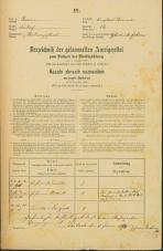Popis prebivalstva 31. 12. 1869<br />Ljubljana<br />Trnovsko predmestje 14<br />Population census 31 December 1869