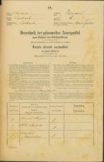 Popis prebivalstva 31. 12. 1869<br />Ljubljana<br />Trnovsko predmestje 18<br />Population census 31 December 1869