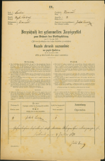 Popis prebivalstva 31. 12. 1869<br />Ljubljana<br />Trnovsko predmestje 2<br />Population census 31 December 1869
