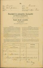 Popis prebivalstva 31. 12. 1869<br />Ljubljana<br />Trnovsko predmestje 21<br />Population census 31 December 1869