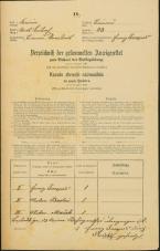 Popis prebivalstva 31. 12. 1869<br />Ljubljana<br />Trnovsko predmestje 23<br />Population census 31 December 1869