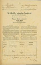 Popis prebivalstva 31. 12. 1869<br />Ljubljana<br />Trnovsko predmestje 66<br />Population census 31 December 1869