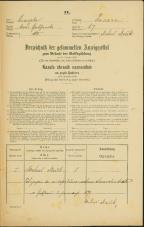 Popis prebivalstva 31. 12. 1869<br />Ljubljana<br />Trnovsko predmestje 67<br />Population census 31 December 1869