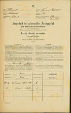 Popis prebivalstva 31. 12. 1869<br />Ljubljana<br />Trnovsko predmestje 68<br />Population census 31 December 1869