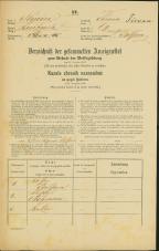 Popis prebivalstva 31. 12. 1869<br />Ljubljana<br />Trnovsko predmestje 69<br />Population census 31 December 1869