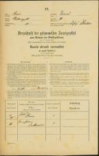 Popis prebivalstva 31. 12. 1869<br />Ljubljana<br />Trnovsko predmestje 70<br />Population census 31 December 1869