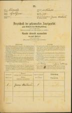 Popis prebivalstva 31. 12. 1869<br />Ljubljana<br />Trnovsko predmestje 79<br />Population census 31 December 1869