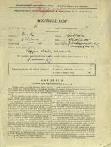 Popis prebivalstva 31. 3. 1931<br />Ljubljana<br />Aleksandrova cesta 1<br />Population census 31 March 1931