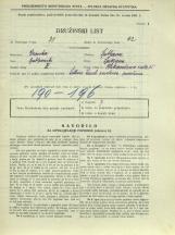 Popis prebivalstva 31. 3. 1931<br />Ljubljana<br />Aleksandrova cesta 15<br />Population census 31 March 1931