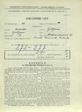 Popis prebivalstva 31. 3. 1931<br />Ljubljana<br />Aleksandrova cesta 20<br />Population census 31 March 1931