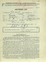 Popis prebivalstva 31. 3. 1931<br />Ljubljana<br />Aleksandrova cesta 26<br />Population census 31 March 1931