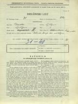 Popis prebivalstva 31. 3. 1931<br />Ljubljana<br />Aleksandrova cesta 5<br />Population census 31 March 1931