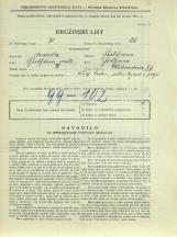 Popis prebivalstva 31. 3. 1931<br />Ljubljana<br />Aleksandrova cesta 7<br />Population census 31 March 1931