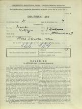 Popis prebivalstva 31. 3. 1931<br />Ljubljana<br />Aleksandrova cesta 9<br />Population census 31 March 1931