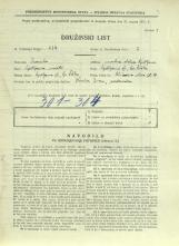Popis prebivalstva 31. 3. 1931<br />Ljubljana<br />Aleševčeva ulica 10<br />Population census 31 March 1931