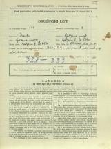 Popis prebivalstva 31. 3. 1931<br />Ljubljana<br />Aleševčeva ulica 17<br />Population census 31 March 1931